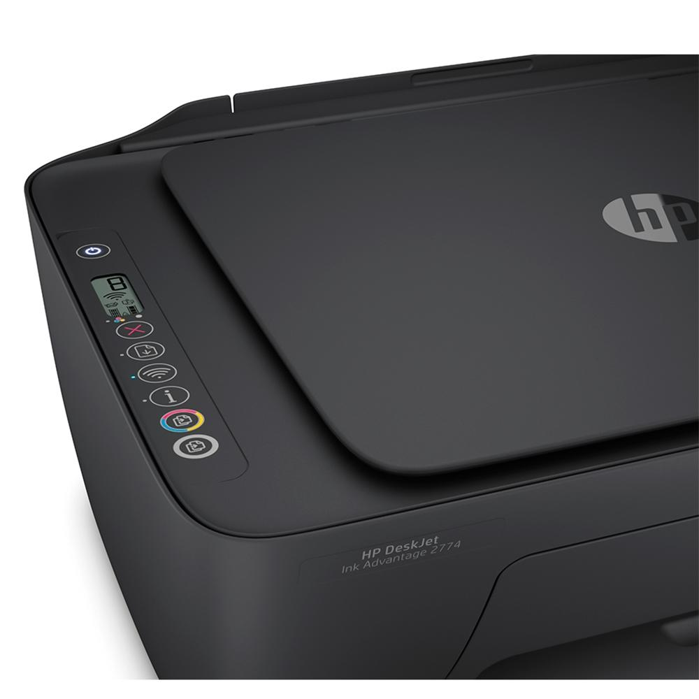Multifuncional HP Sem Fio Deskjet Ink Advantage 2774 Wi-Fi - Jato de Tinta - Colorida - Bivolt - 7FR22A-AK4