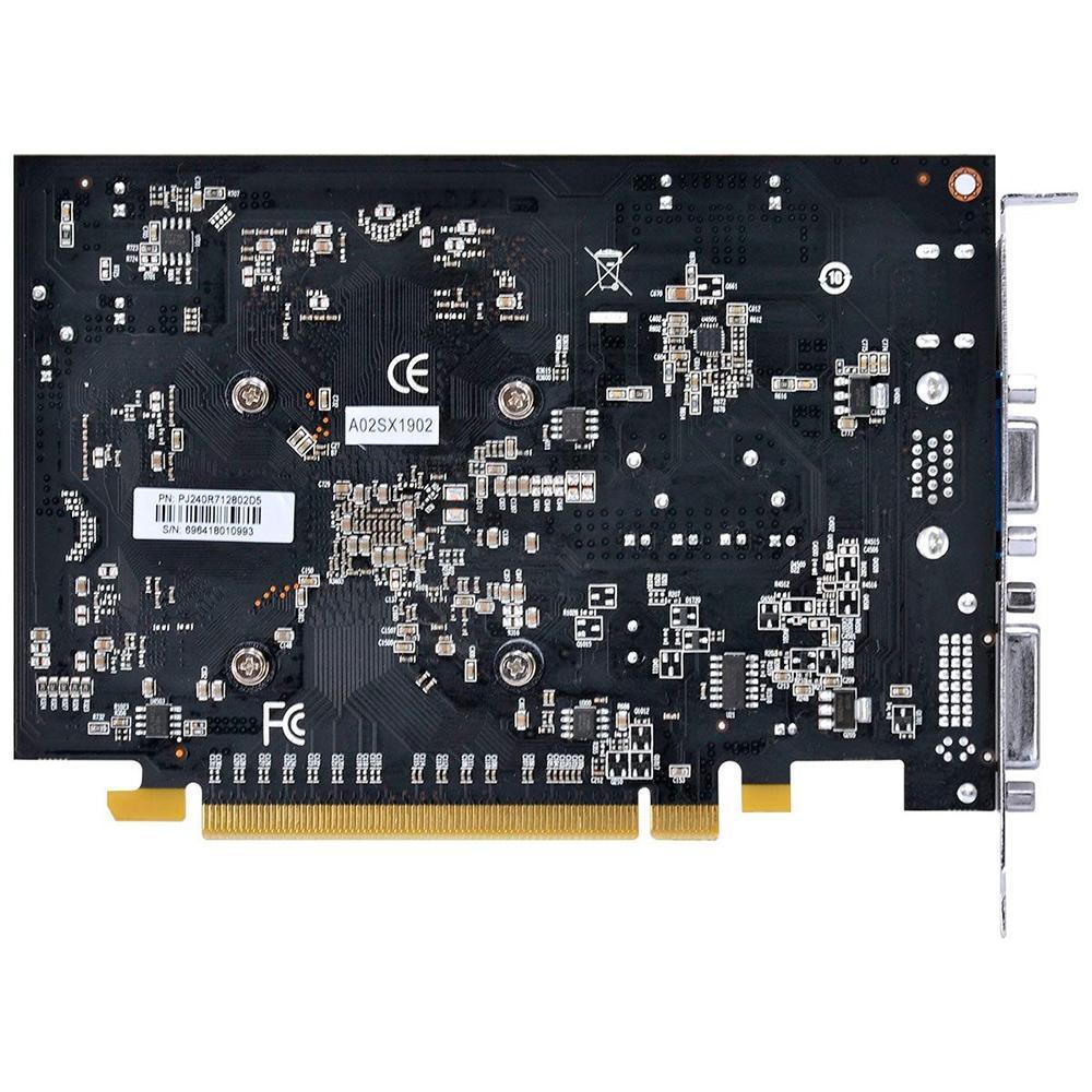 Placa de Vídeo VGA PCYes AMD Randeon RT 240, 2GB, GDDR5, 128 Bits, PCI-E 3.0 - PJ240R712802D5