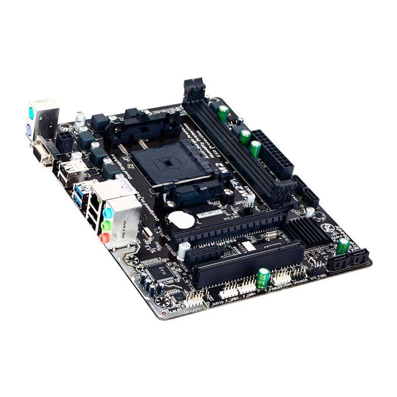 Placa Mãe Gigabyte P/ AMD FM2+ mATX DDR3 - GA-F2A68HM-S1