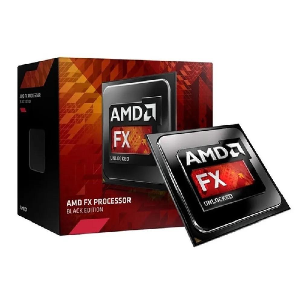 Processador AMD FX 4300 Box AM3+ 3.8GHz, Cache 8MB, 4 Núcleos - FD4300WMHKBOX