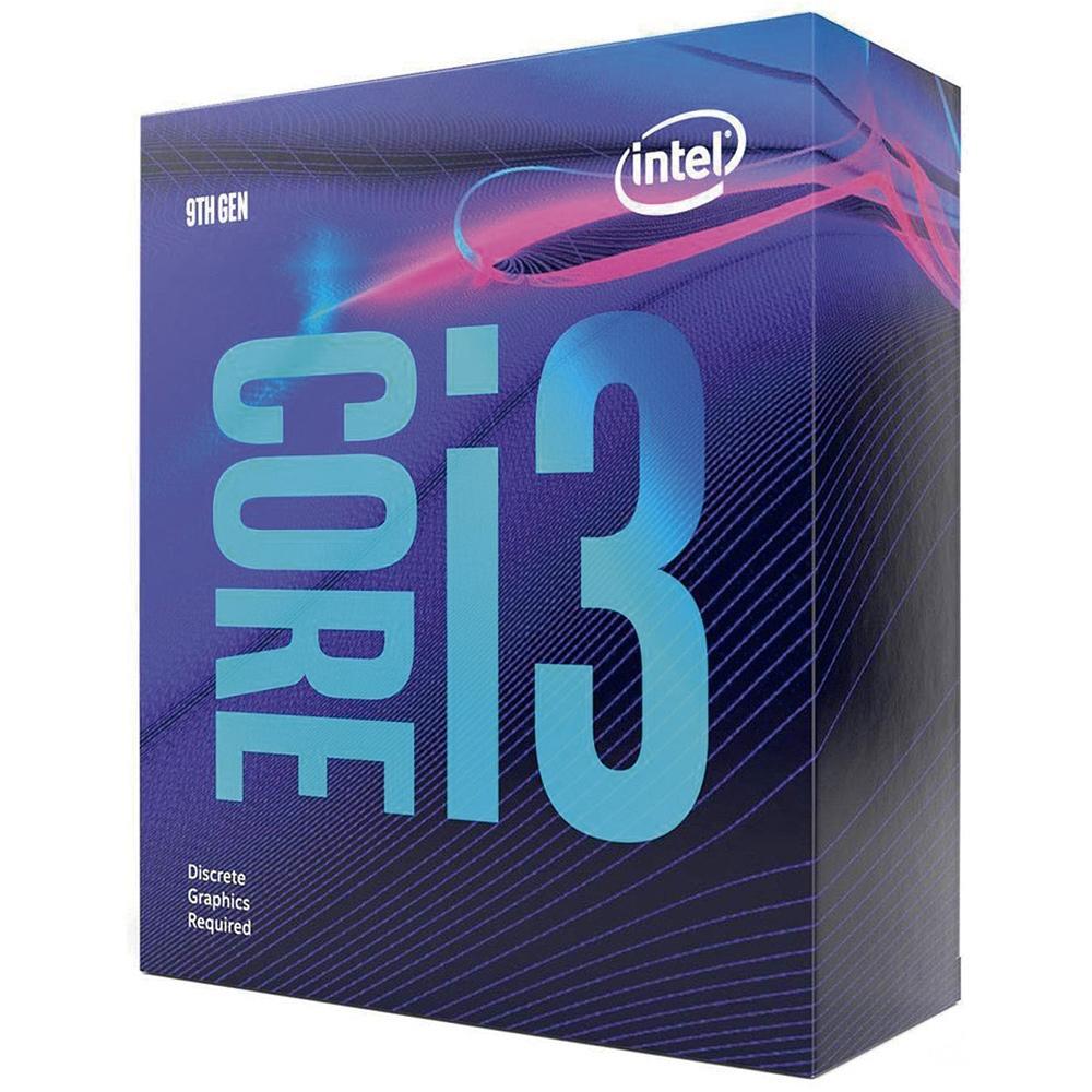 Processador Intel Core i3-9100F Coffee Lake 9ª Geração LGA 1151 3.6GHz (4.2 GHz Max Turbo), Cache 6MB, Sem Vídeo - BX80684I39100F