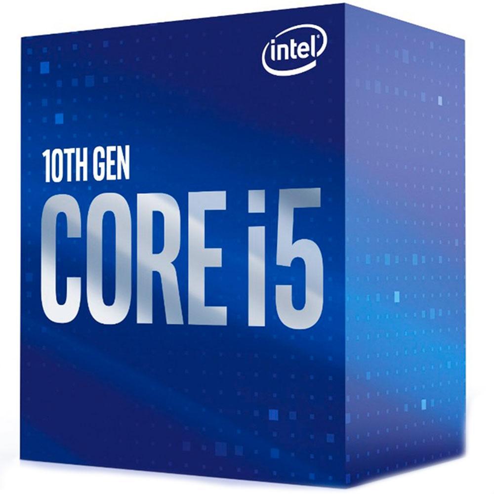 Processador Intel Core i5-10400 Comet Lake 10ª Geração LGA 1200 2.9GHz (4.3 GHz Max Turbo), Cache 12MB - BX8070110400