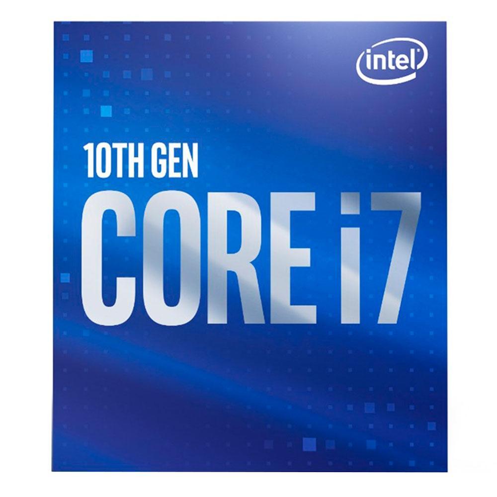 Processador Intel Core i7-10700 Comet Lake 10ª Geração LGA 1200 2.9GHz (4.8 GHz Max Turbo), Cache 16MB - BX8070110700
