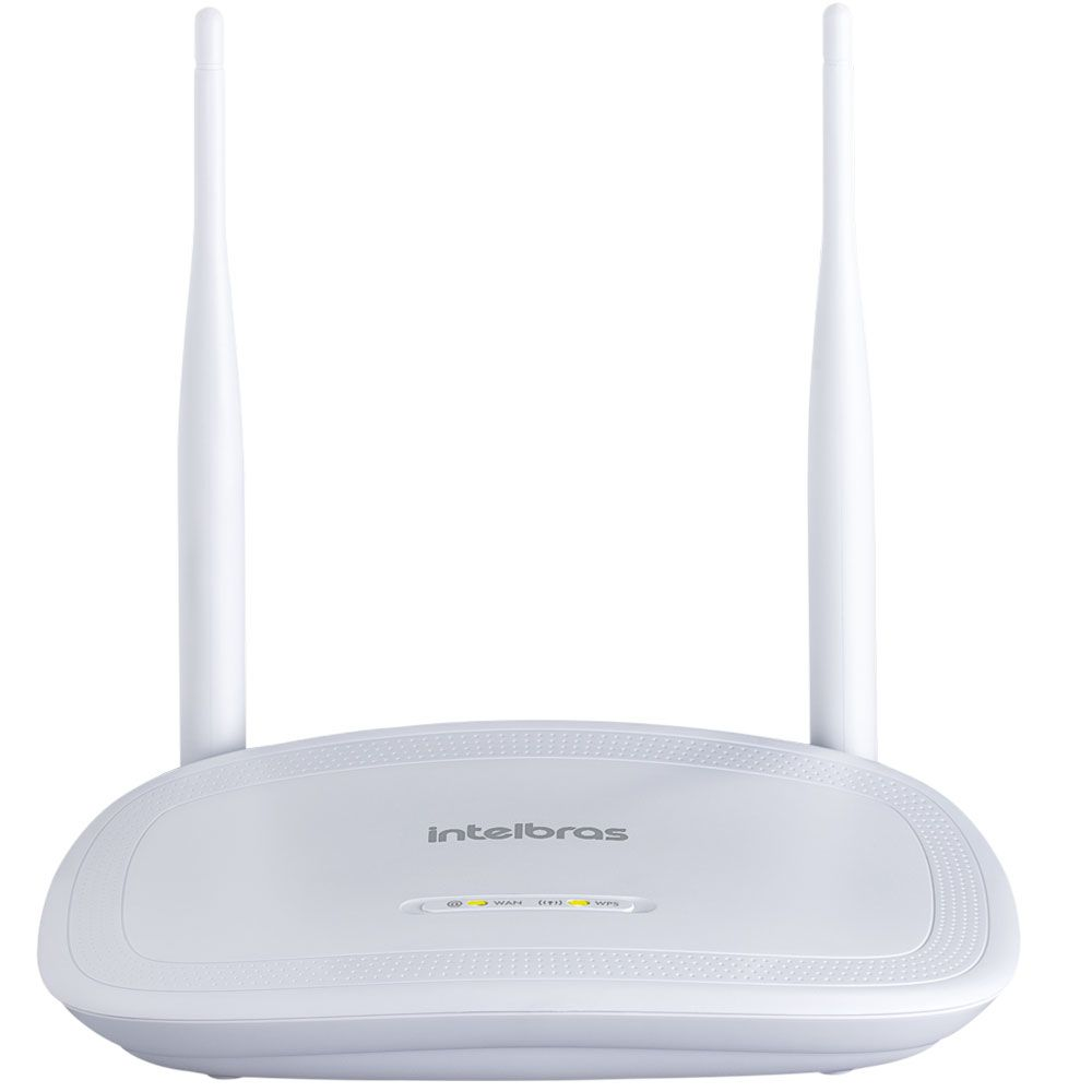 Roteador (Wi-Fi) Intelbras 300 Mbps - IWR 3000N