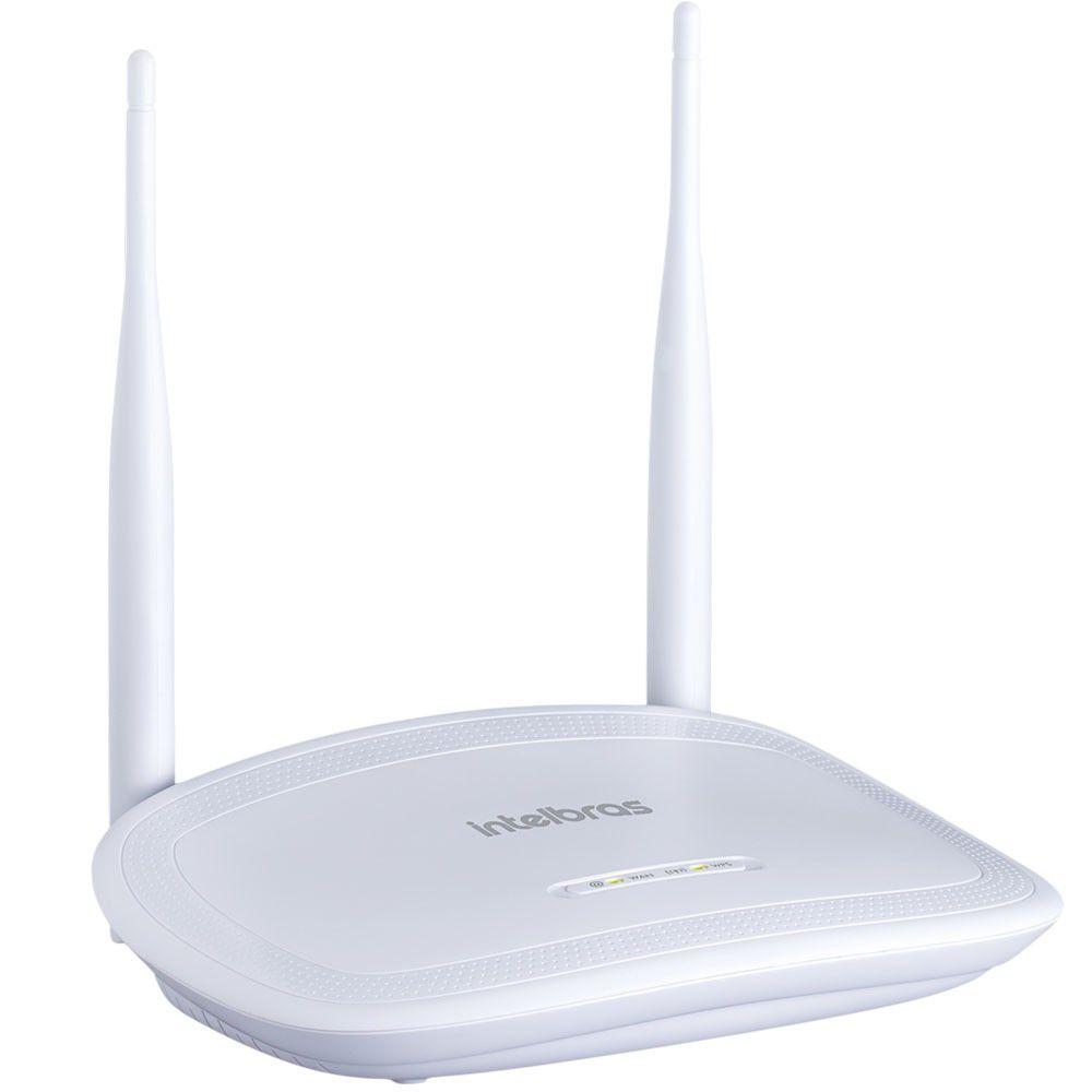 Roteador (Wi-Fi) Intelbras 300 Mbps - IWR 3000N
