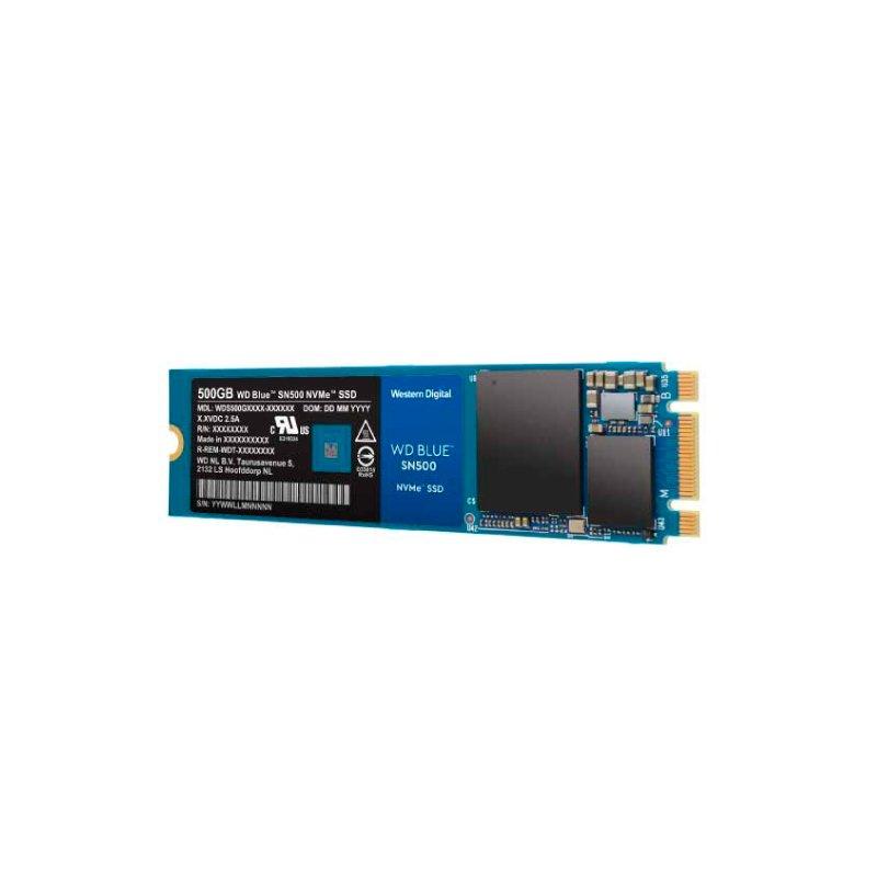 SSD WD Blue 500GB SN550 M.2 PCIe NVMe - WDS500G2B0C