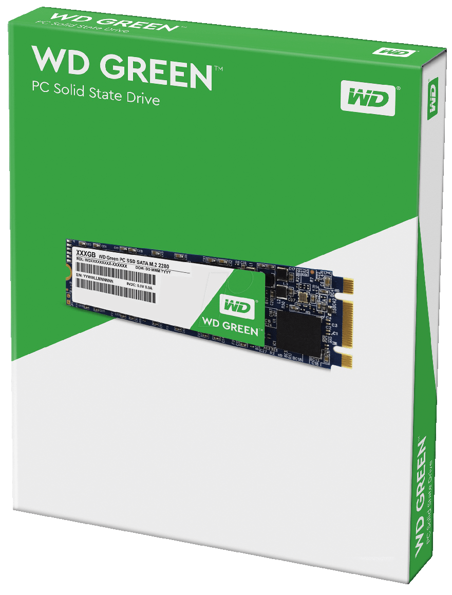 SSD WD (Western Digital) 120GB WD Green M.2 2280 - WDS120G2G0B