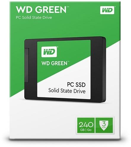 SSD WD (Western Digital) 240GB WD Green SATA III 2.5' - WDS240G2G0A