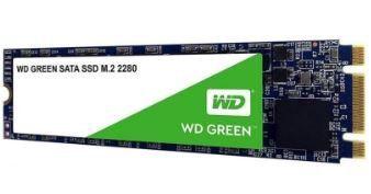 SSD WD (Western Digital) 480GB WD Green M.2 2280 - WDS480G2G0B