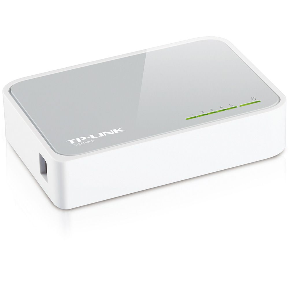 Switch TP-Link 5 Portas 10/100 Mbps - TL-SF1005D