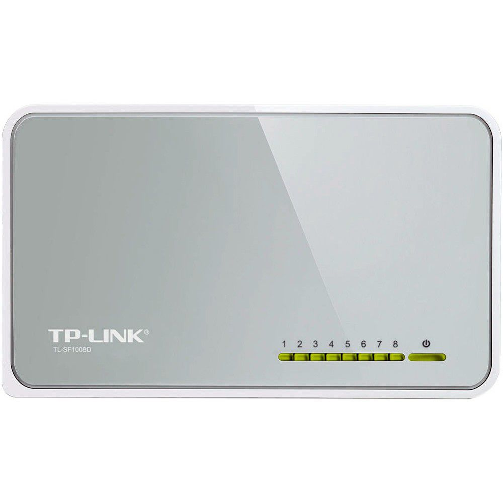 Switch TP-Link 8 Portas 10/100 Mbps - TL-SF1008D