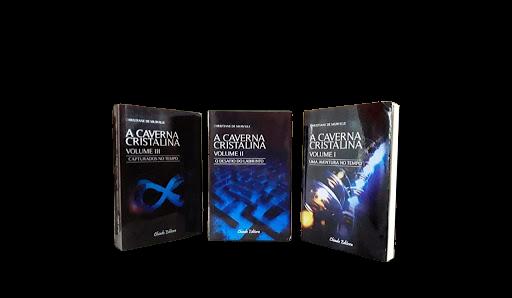 A Caverna Cristalina -  Trilogia completa  - Chapada Diamantina