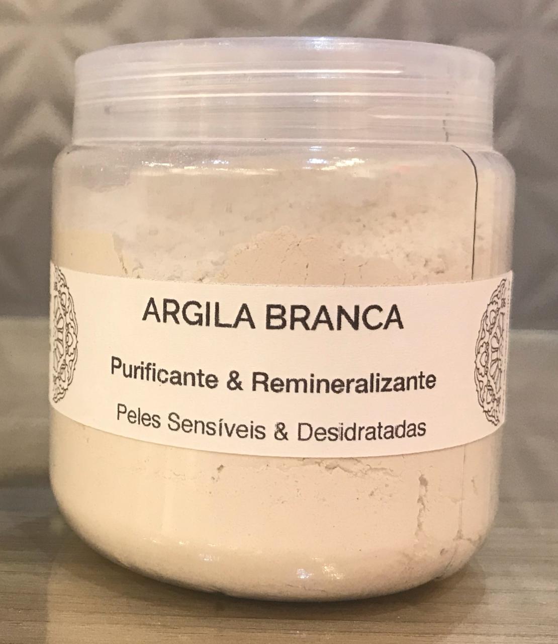 Argila Branca (Pó) - 100% Natural & Vegetal - Chapada Diamantina  - EMPÓRIO CHAPADA DIAMANTINA