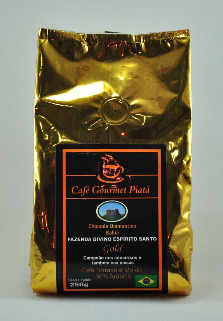 Café Gourmet Piatã Gold - 250g (Moído)