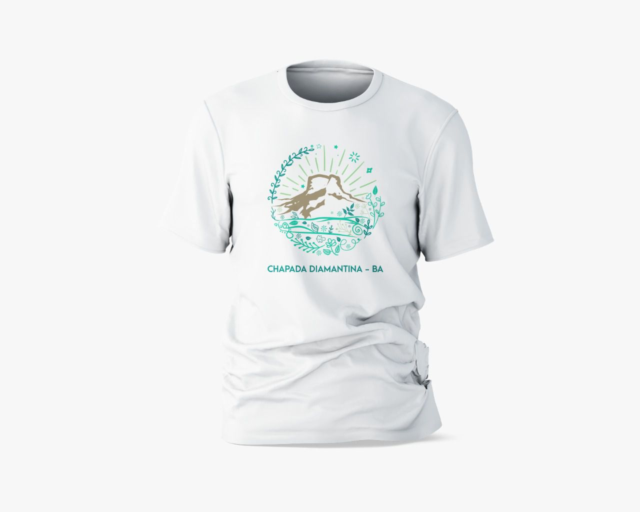 Camisa Branca 100% Algodão - Morro do Pai Inácio