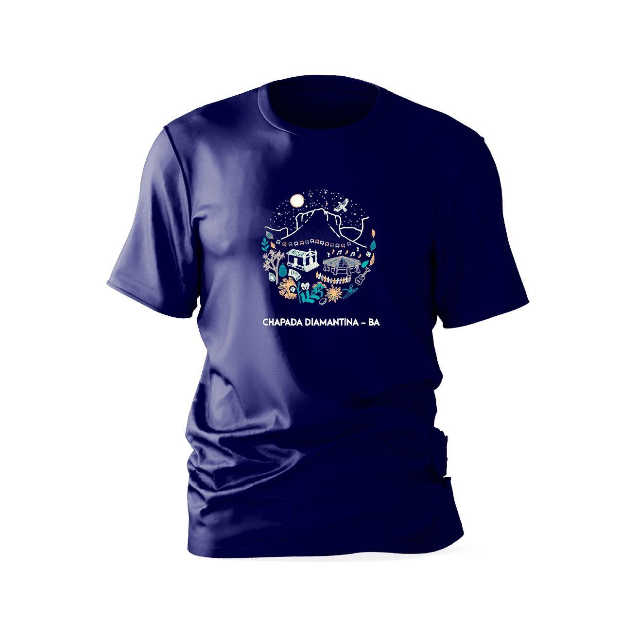Camisa Chapada Diamantina 100% Algodão - Vale do Capão