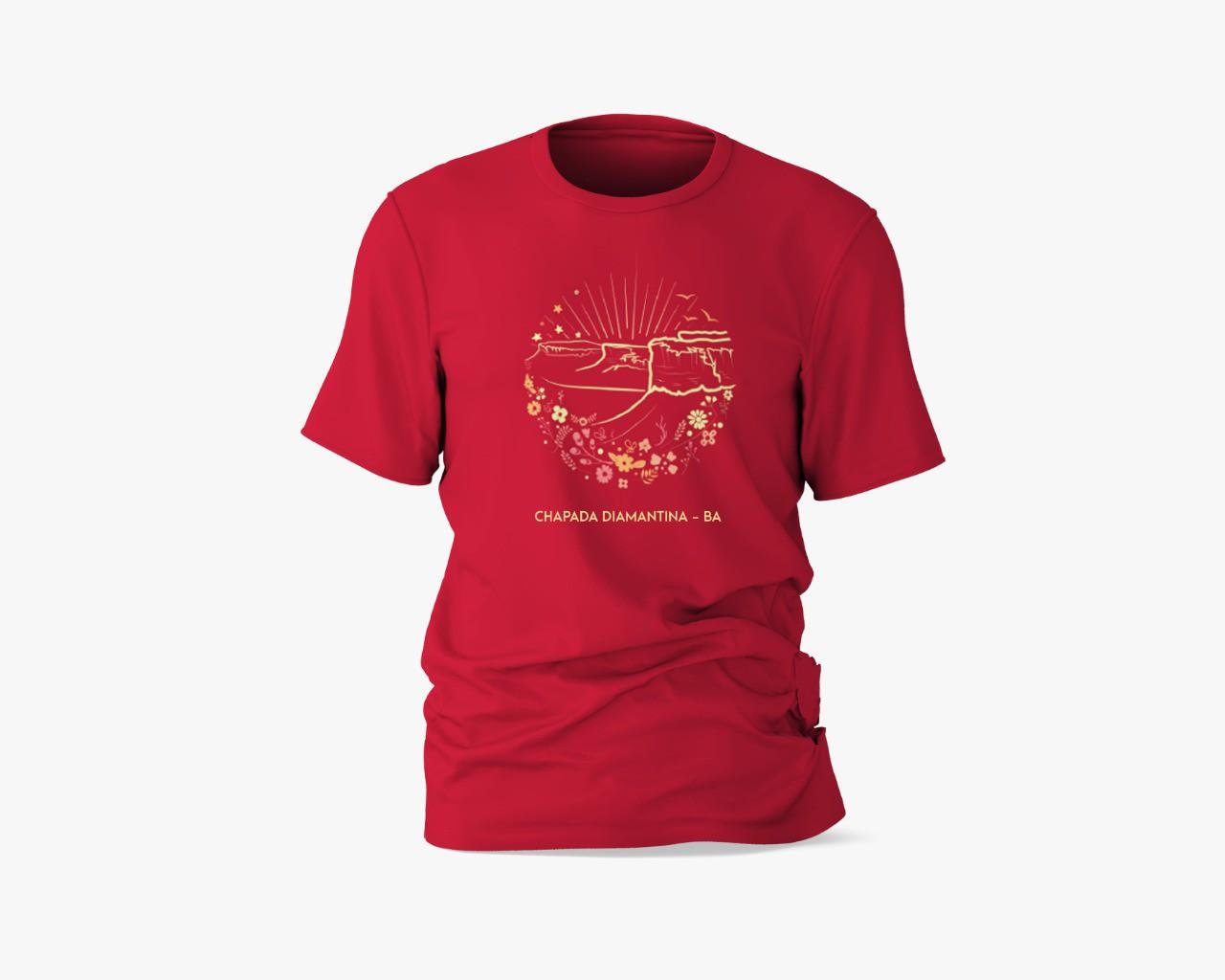 Camisa Chapada Diamantina - Vista de cima do Morro do Pai Inácio