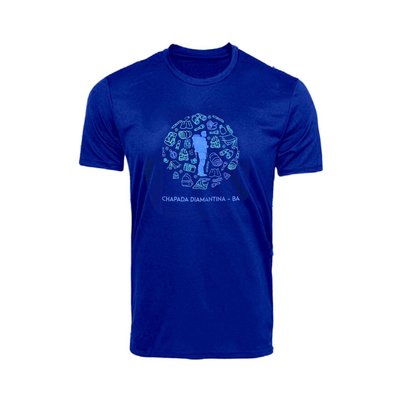 Camiseta UV 50+ Manga Curta - Andarilho