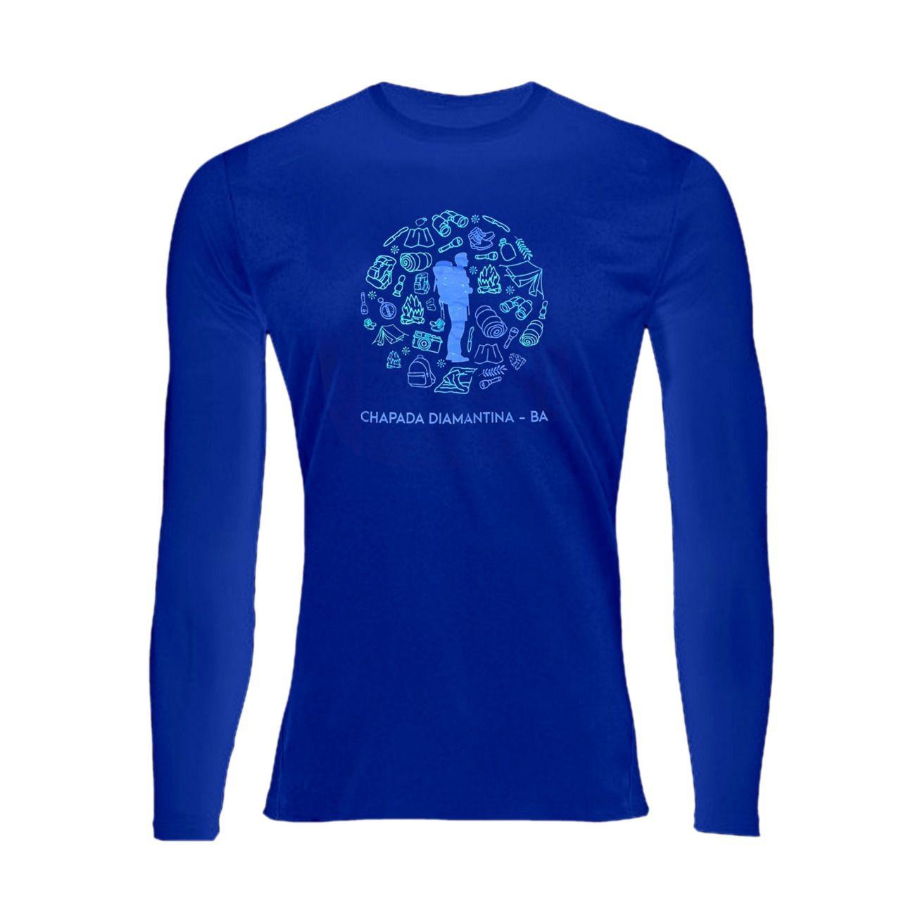 Camiseta UV 50+ Manga Longa - Andarilho  - EMPÓRIO CHAPADA DIAMANTINA