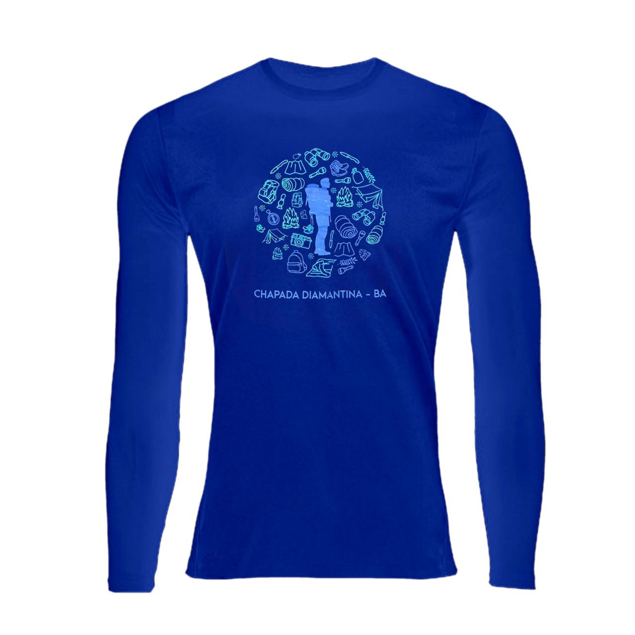 Camiseta UV 50+ Manga Longa - Andarilho