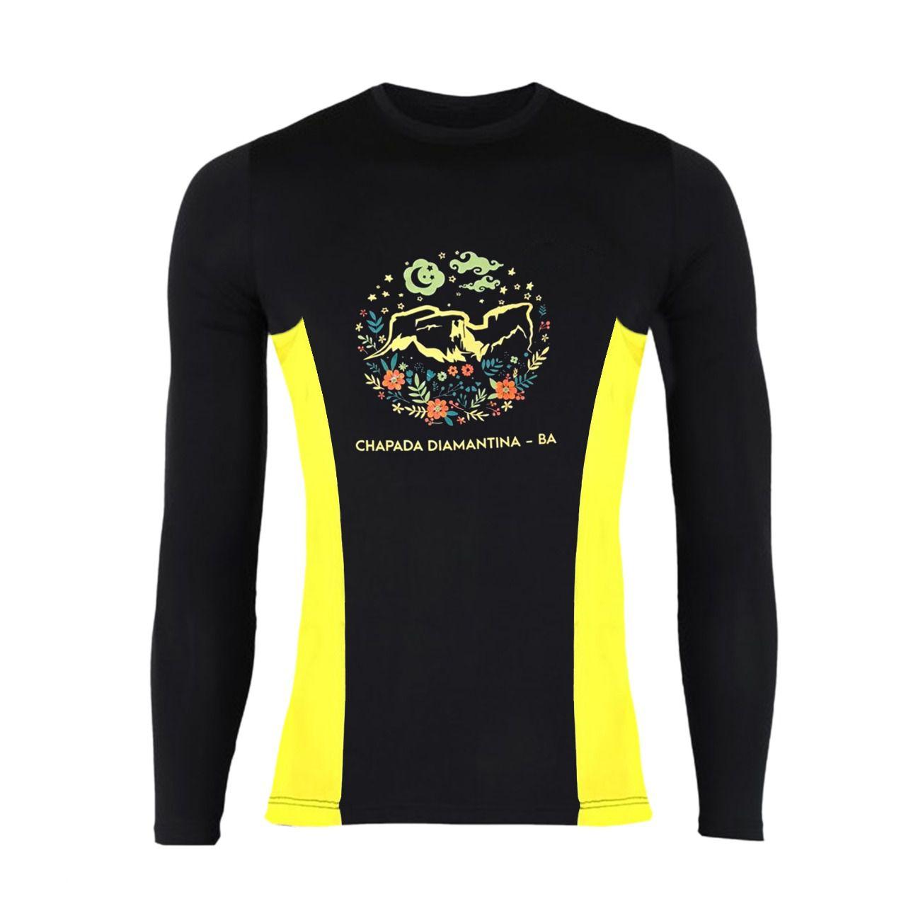 Camiseta UV 50+ Manga Longa- Morro do Camelo  - EMPÓRIO CHAPADA DIAMANTINA