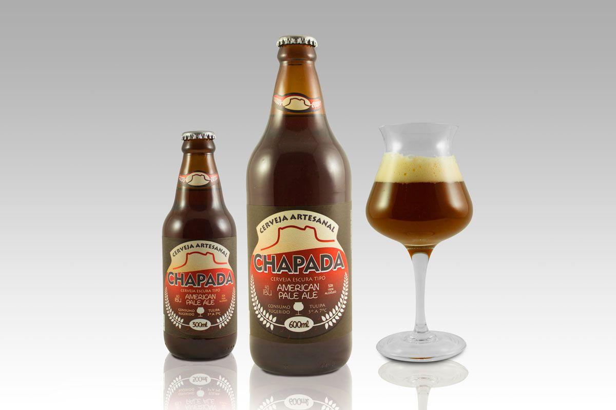 Cerveja Chapada American Pale Ale - APA (600 ml) - Chapada Diamantina