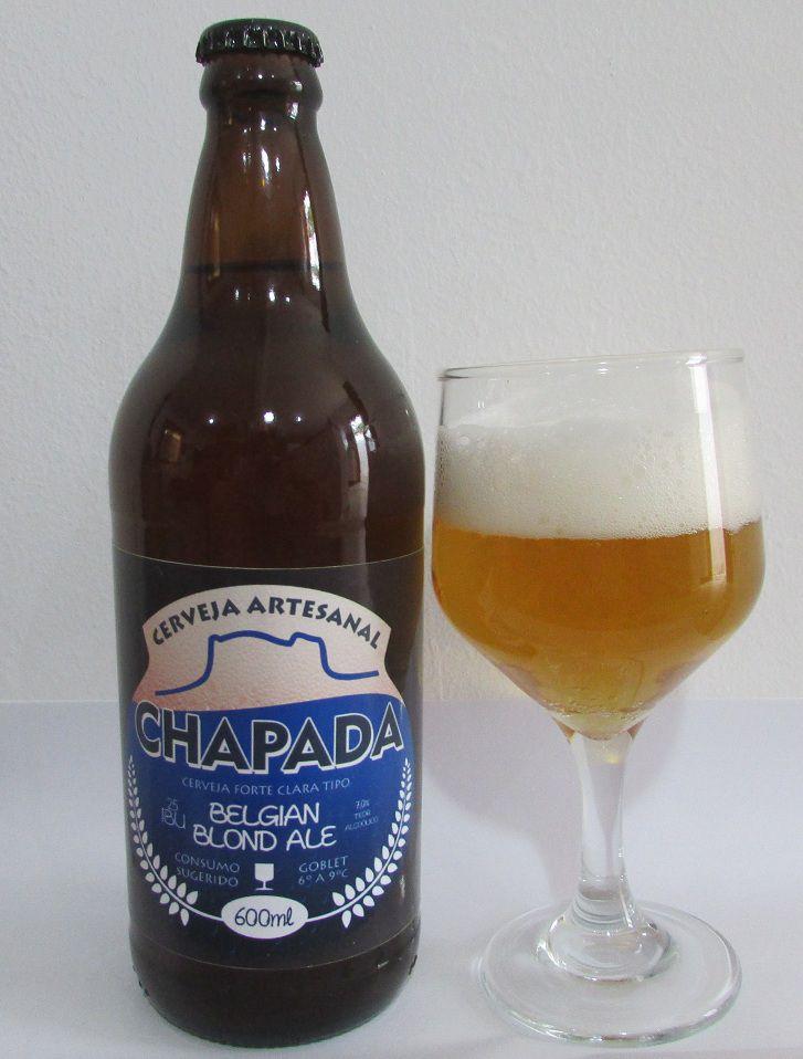 Cerveja Chapada Belgian Blond Ale (600 ml)  - EMPÓRIO CHAPADA DIAMANTINA