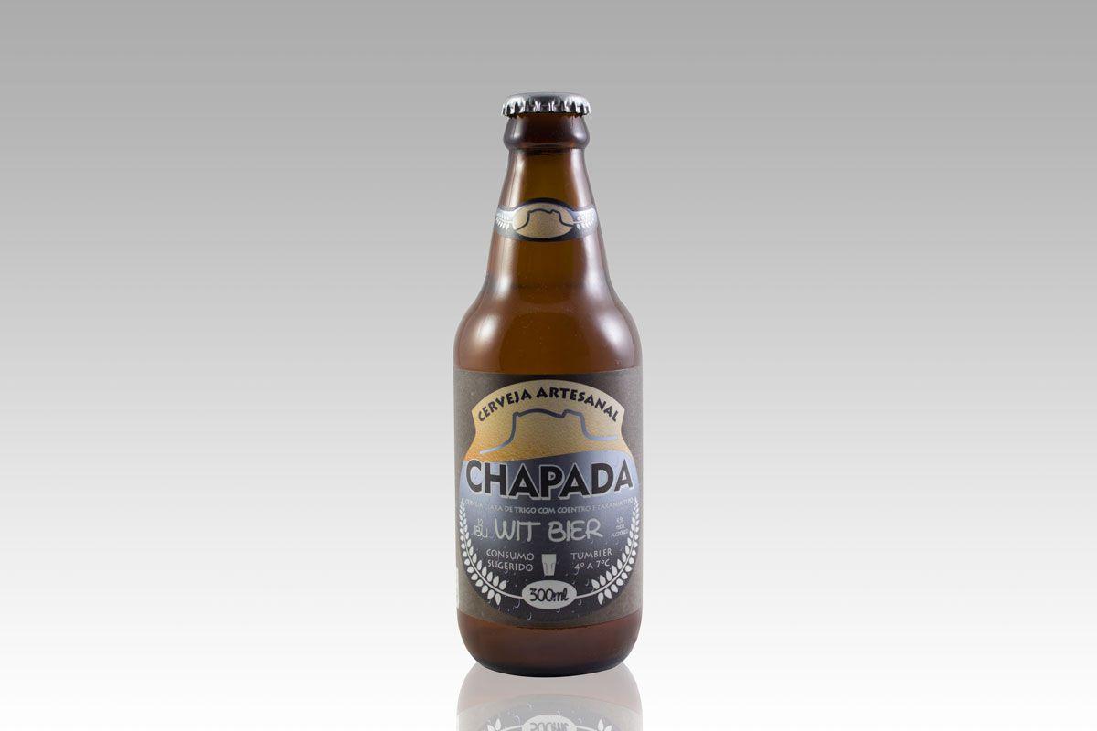 Cerveja Chapada Wit Bier (300 ml)  - EMPÓRIO CHAPADA DIAMANTINA