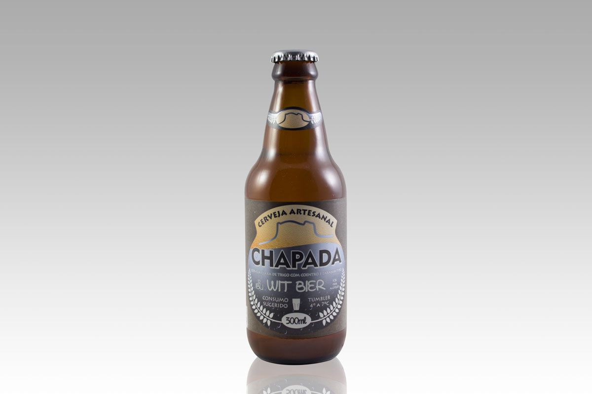 Cerveja Chapada Wit Bier (300 ml)