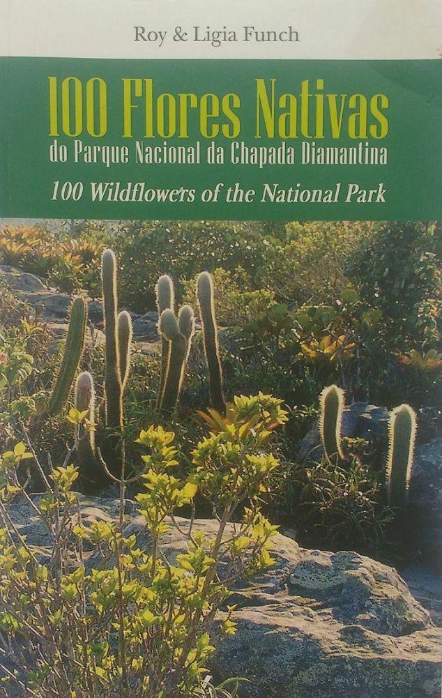 Livro 100 Flores Nativas - Chapada Diamantina