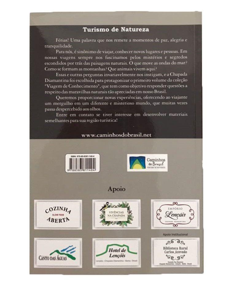 Livro História Natural da Chapada Diamantina  - EMPÓRIO CHAPADA DIAMANTINA