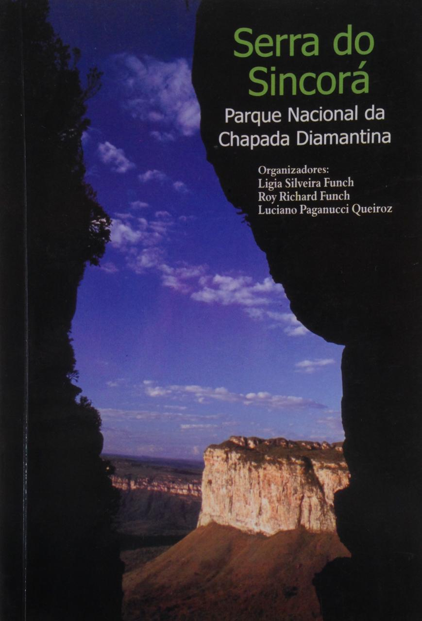 Livro Serra do Sincorá - Chapada Diamantina  - EMPÓRIO CHAPADA DIAMANTINA