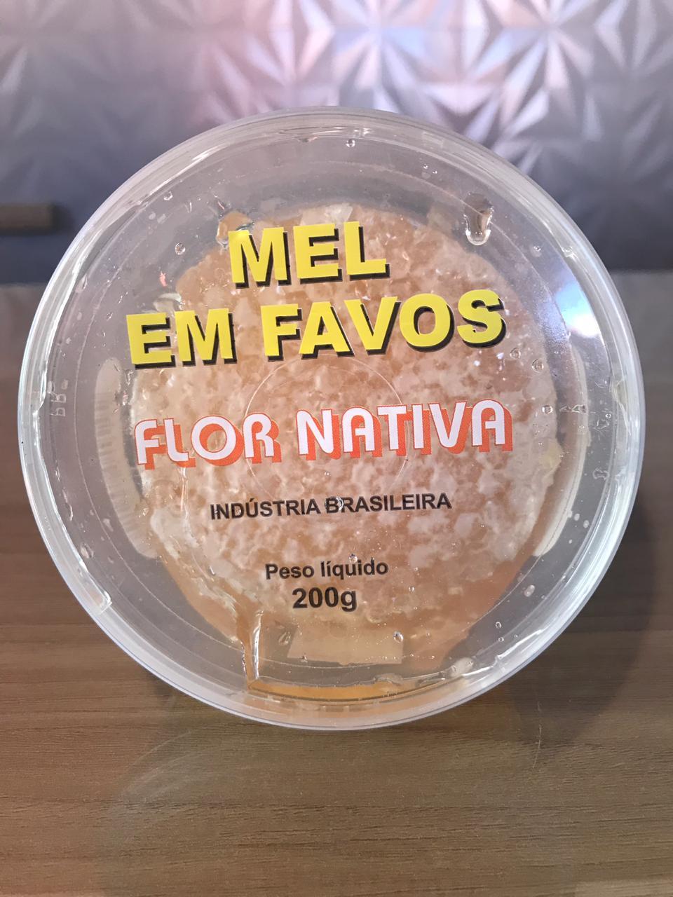 Mel em Favo - Flor Nativa 200g  - EMPÓRIO CHAPADA DIAMANTINA