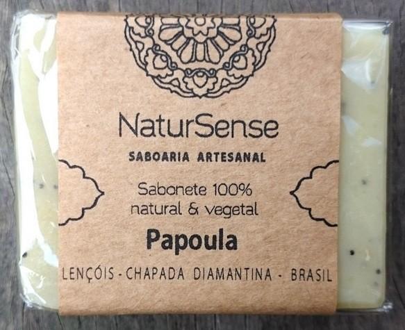 Sabonete de Semente de Papoula  - 100% Natural e Vegetal - Chapada Diamantina  - EMPÓRIO CHAPADA DIAMANTINA