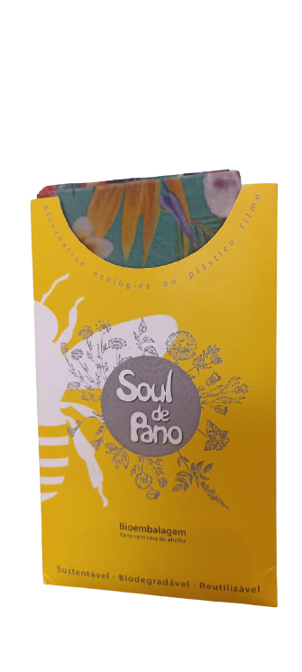 Soul de Pano - kit de panos encerados - Chapada Diamantina