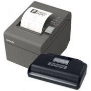 KIT SAT Epson A-10 + Impressora térmica TMT-20 Epson USB