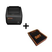 KIT sat jetway JS1000 + Impressora térmica jetway JP500 USB GUILHOTINA E SERRILHA