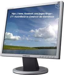 """Monitor LED Samsung 15""""  SyncMaster 540  - Loja Ribeirão WCOM Soluções"""