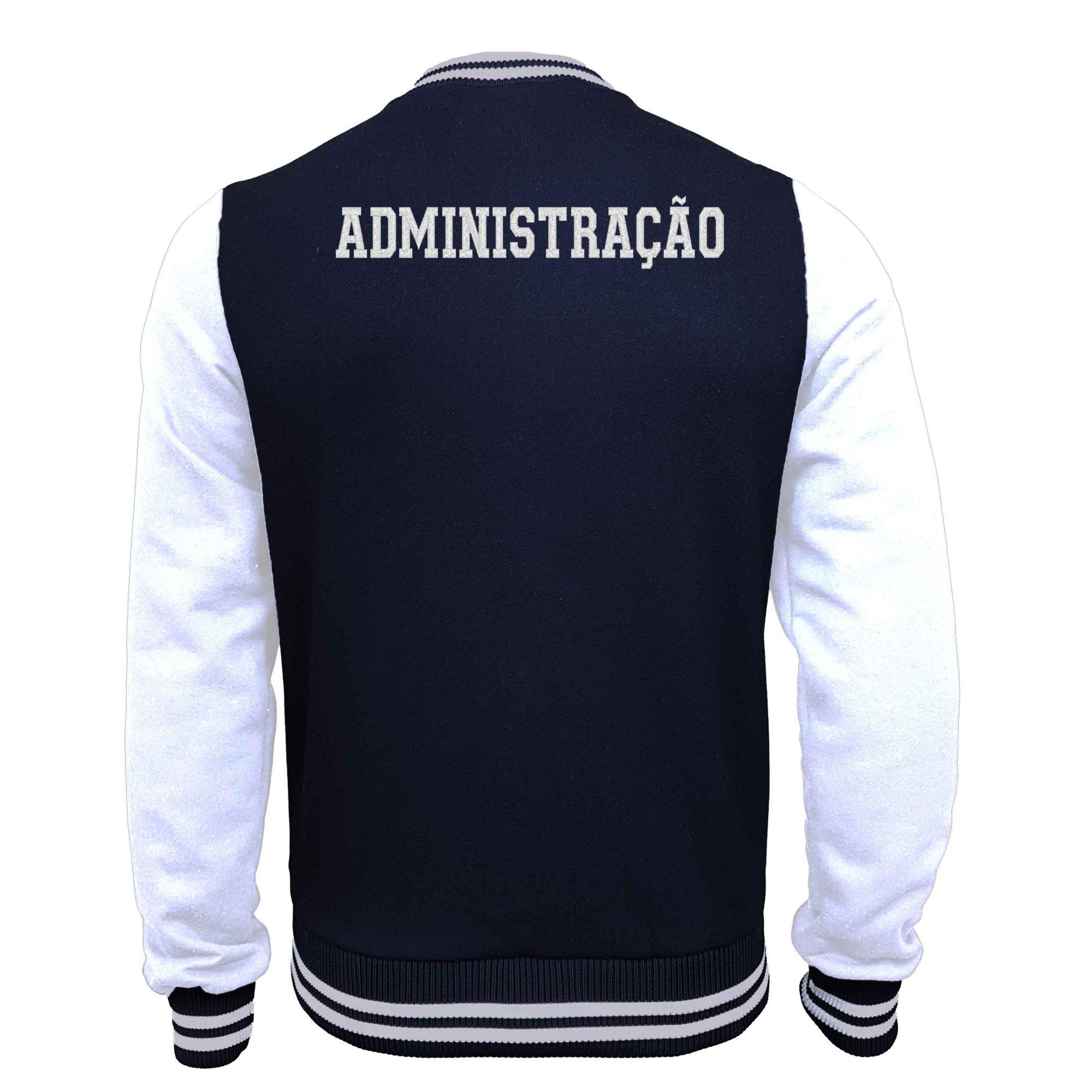 Jaqueta Moletom College Administração