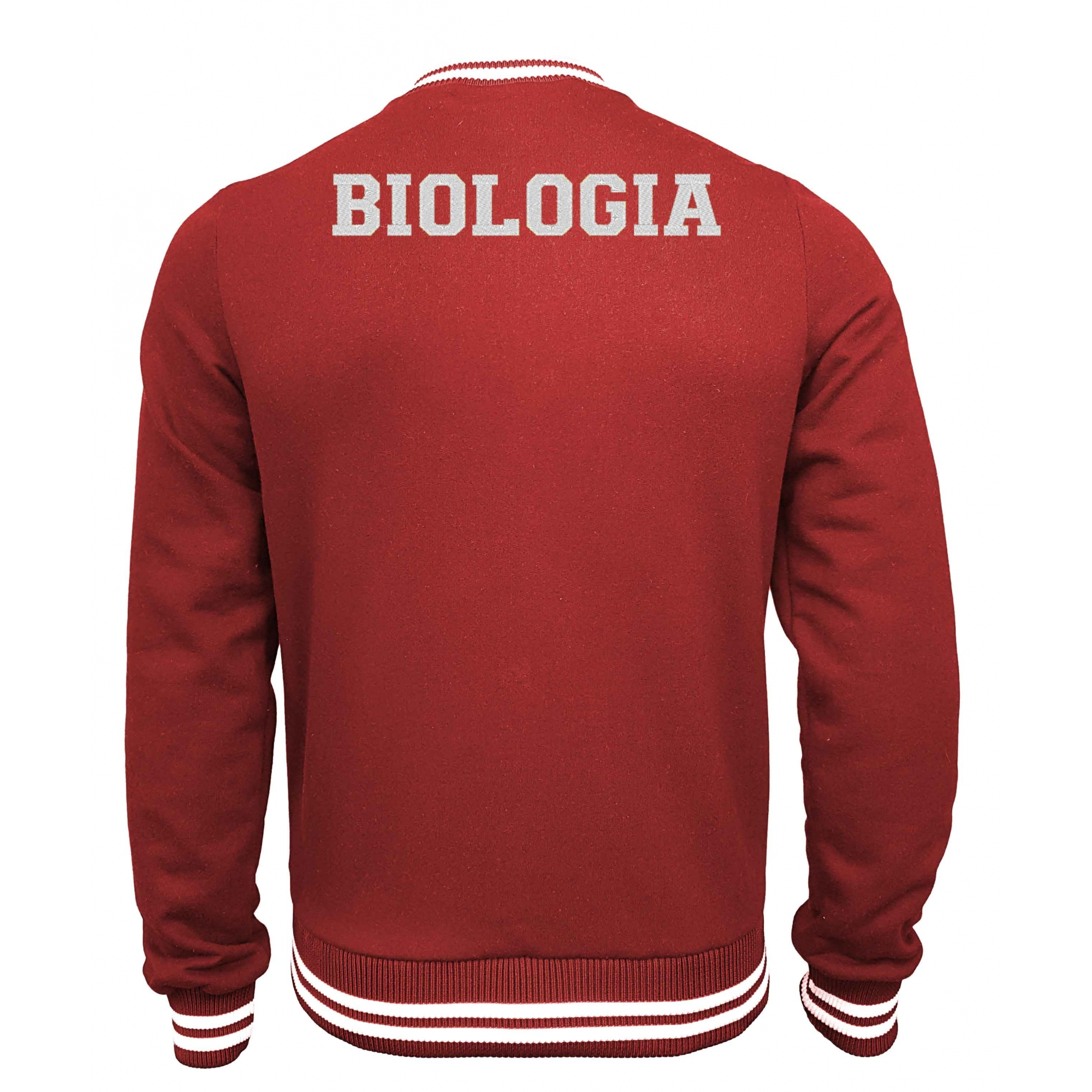Jaqueta Moletom College Biologia