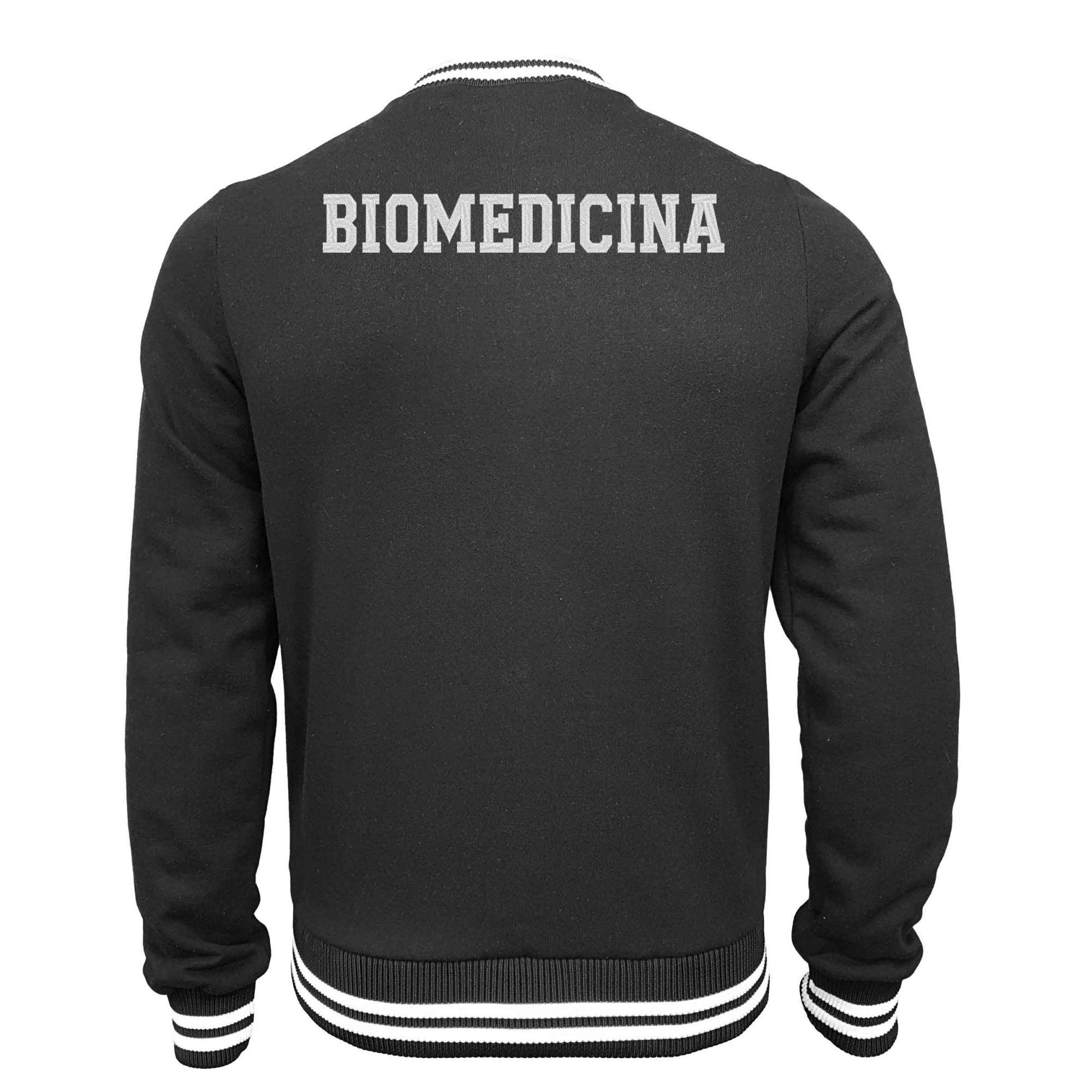 Jaqueta Moletom College Biomedicina