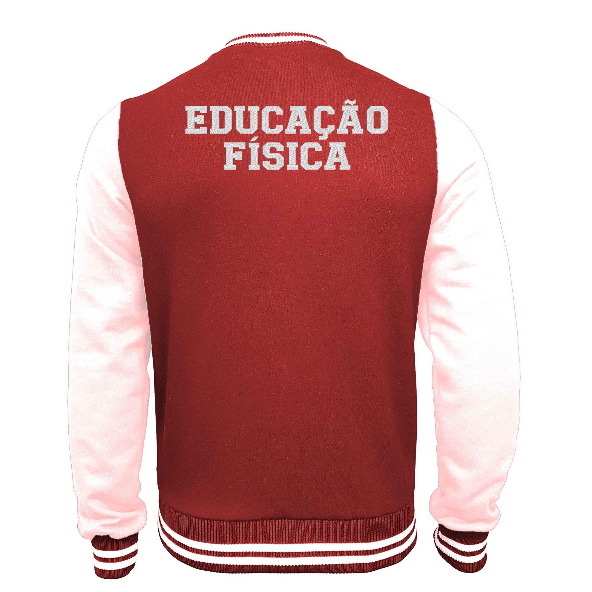 Jaqueta Moletom College Educação Física