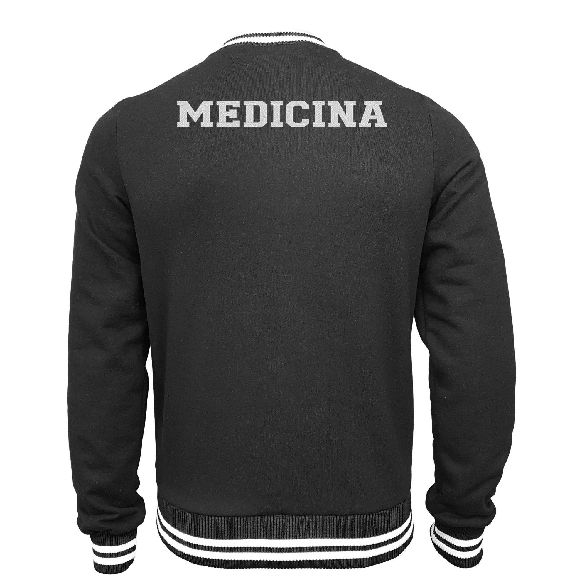 Jaqueta Moletom College Medicina
