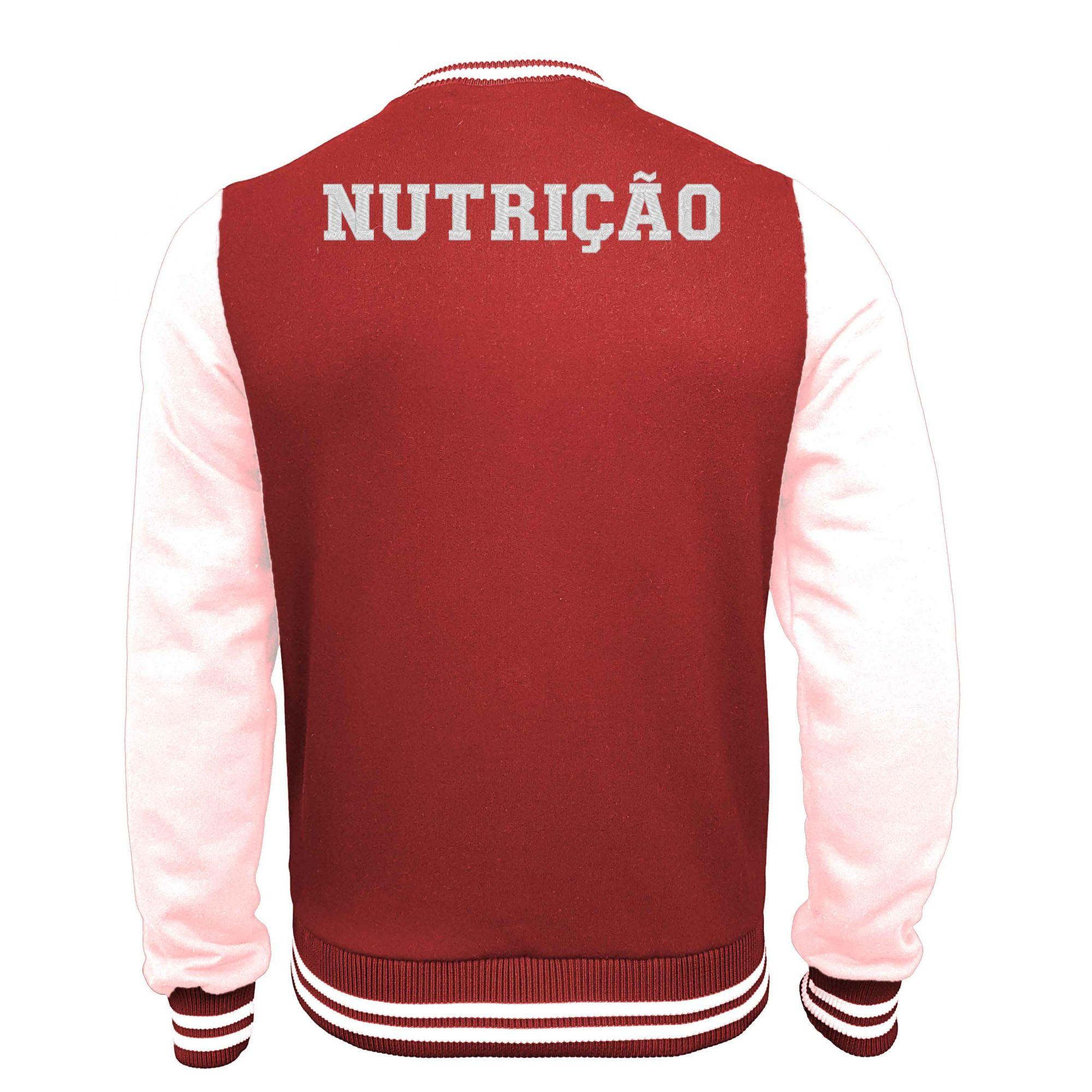 Jaqueta Moletom College Nutrição