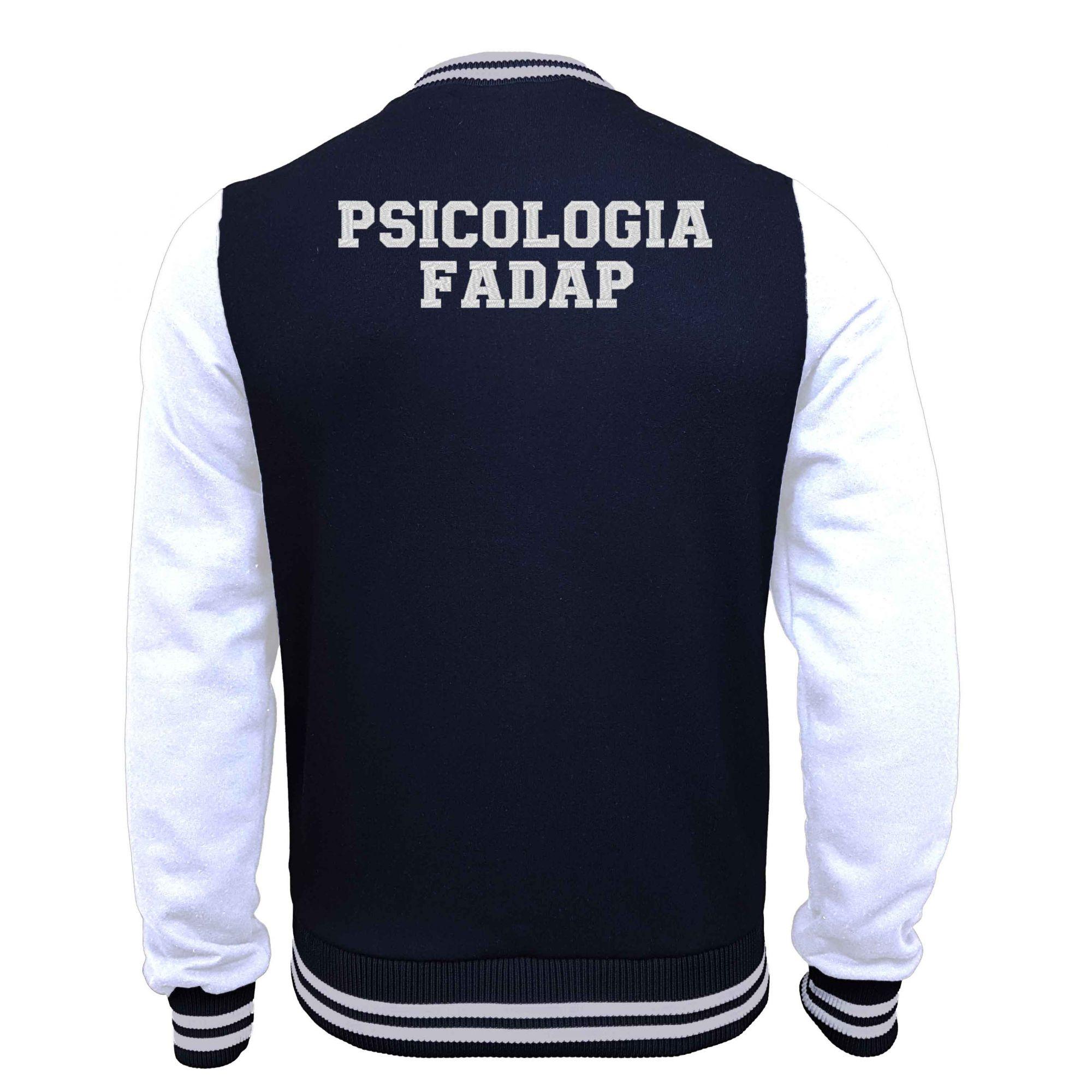 Jaqueta Moletom College Psicologia