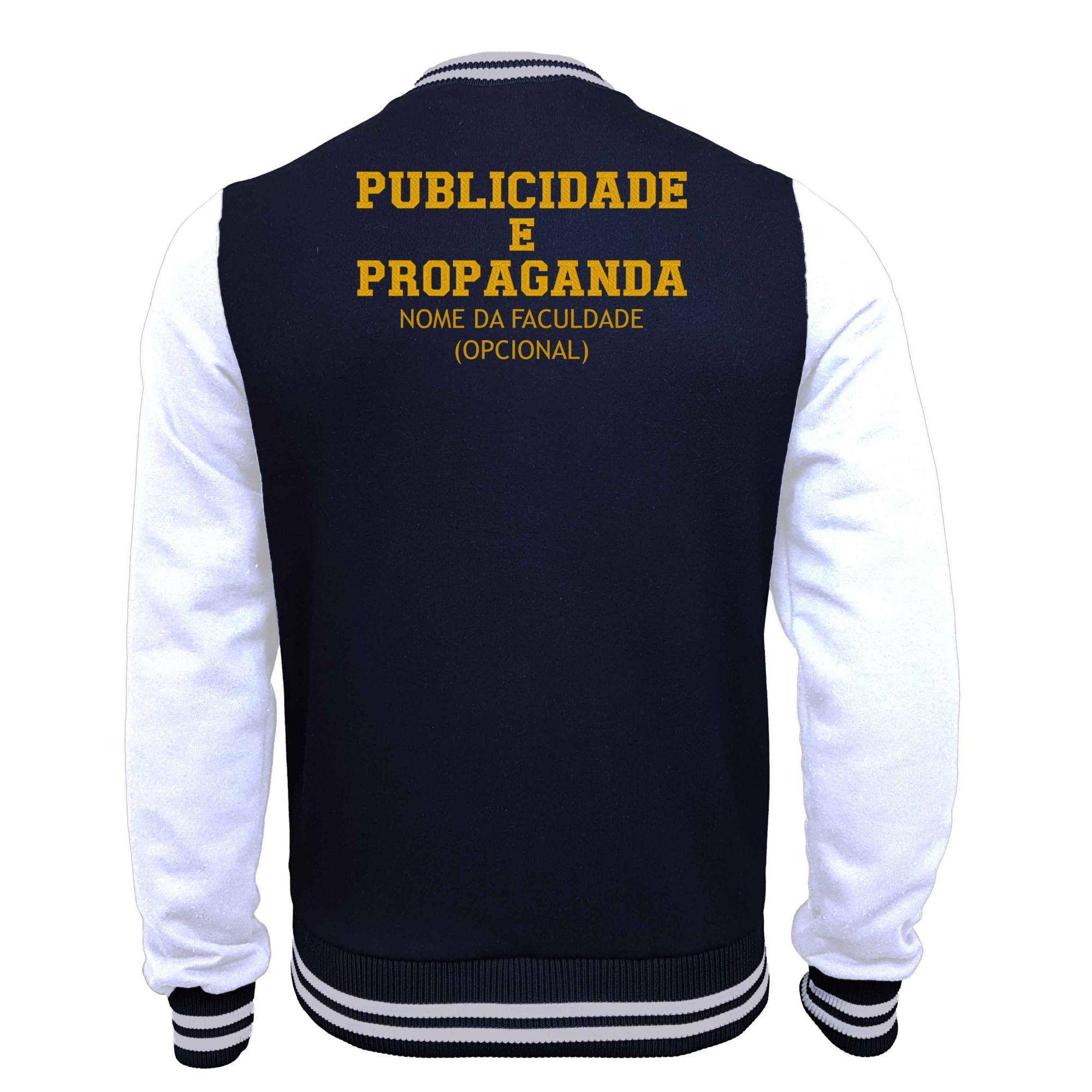 Jaqueta Moletom College Publicidade e Propaganda