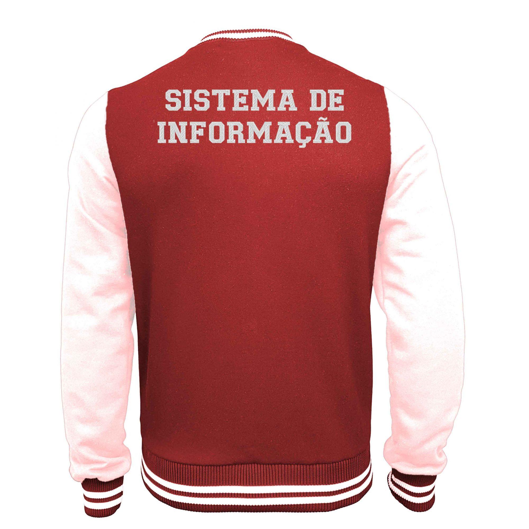 Jaqueta Moletom College Sistema de Informação