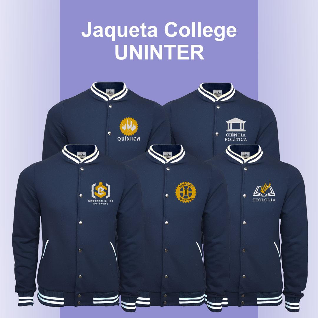 Jaqueta Moletom College UNINTER