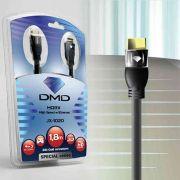 Diamond Cable DMD JX-1020 12 Metros - Cabo HDMI High Speed com Ethernet 10.2Gbps 3D 4K ARC - Unidade