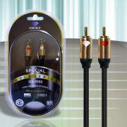 Diamond Cable DMD GS-3055 3 Metros - Cabo de Áudio Estéreo RCA - Unidade